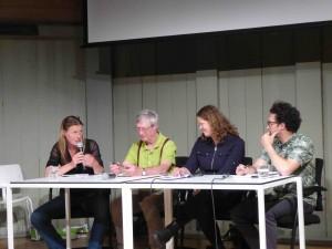 Le comité d'éthique, Waag Society, Amsterdam, 12 mai 2017 (photo Annick Bureaud)