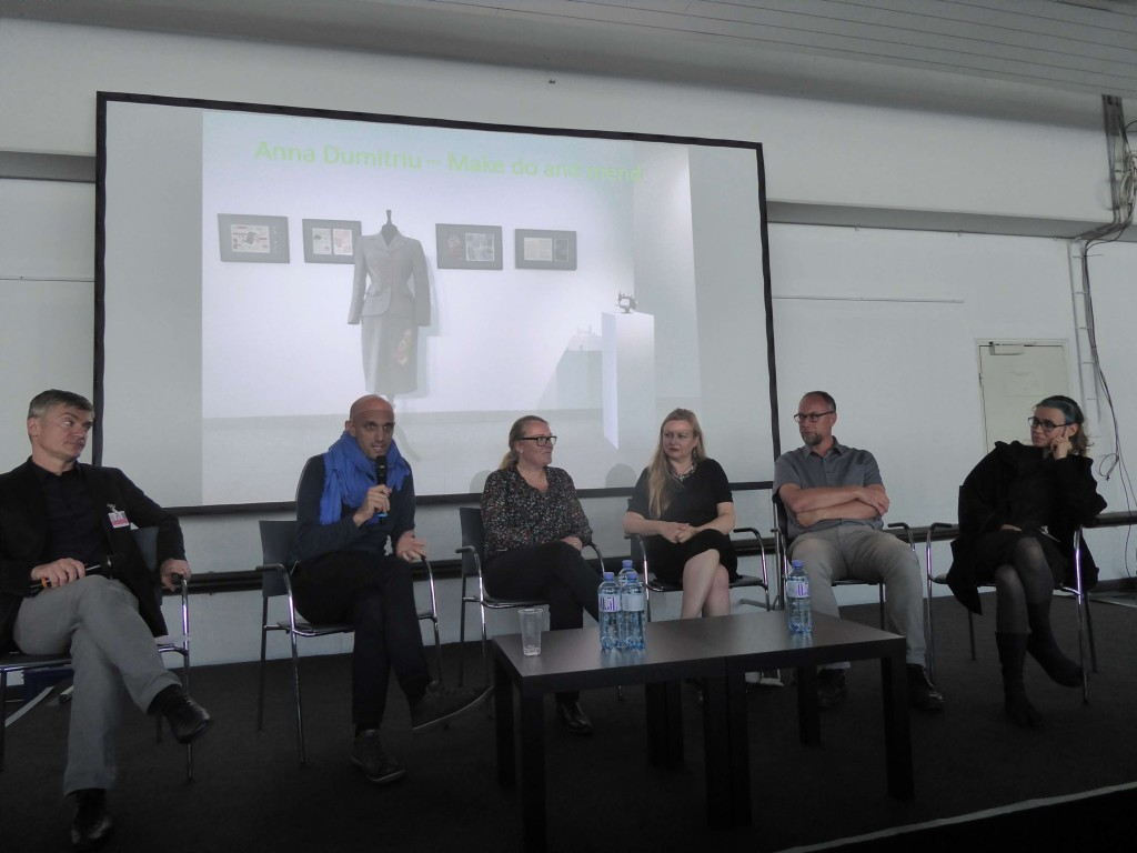 FEAT Panel at Ars Electronica, image Annick Bureaud