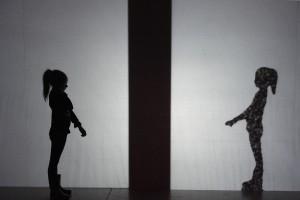 """""""Toute la lumière sur l'ombre"""", Lahoz-Jacquemin (photo Dominique Chauvin)"""