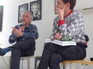 Jean-Marc Chomaz et Heiko Hansen du duo HeHe