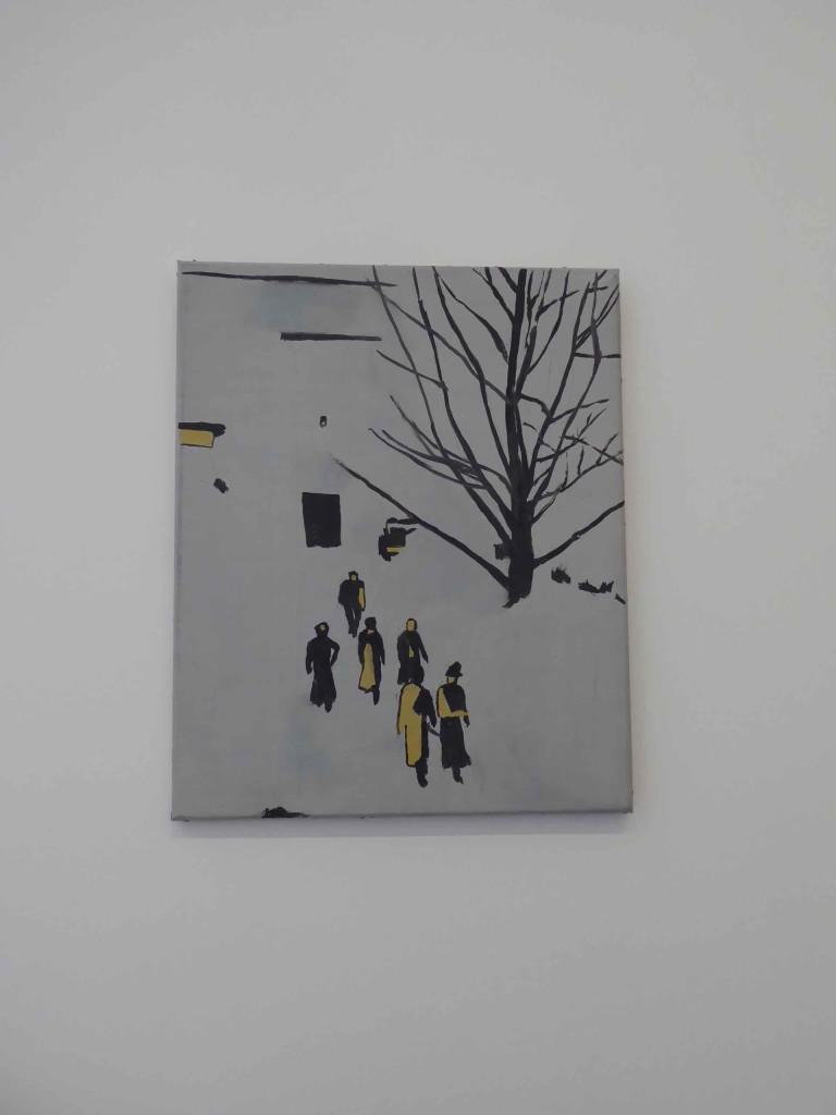 Wandeling (Walk), Luc Tuymans, 1989 (exposition Palazzo Grassi, Fondation Pinault, 2019)